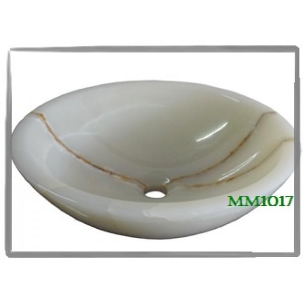 Раковина из камня (белый оникс) MM1017