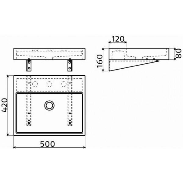 Раковина 50 см (CL/02.11030)