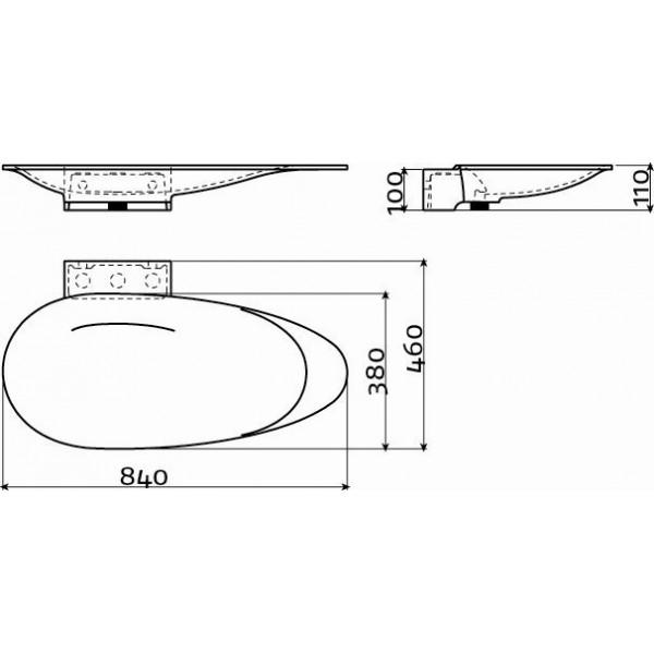 Дизайнерская раковина (CL/02.27010)