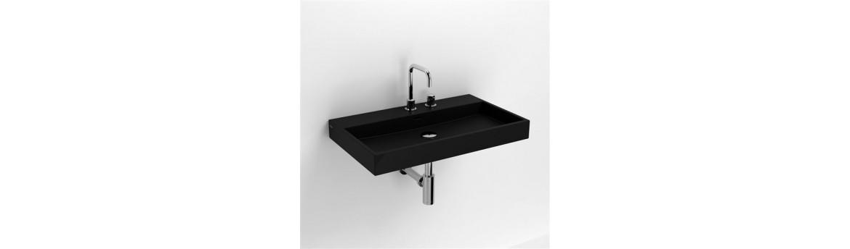 Черные раковины для ванной комнаты
