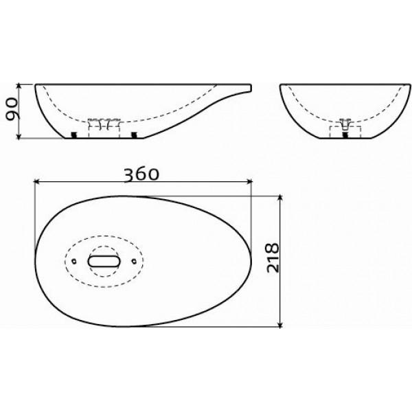 Рукомойник 36 см  (CL/03.03110)
