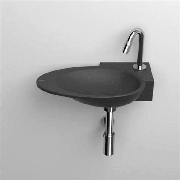 Угловая раковина в ванную комнату 39 см правая (CL/03.07100)