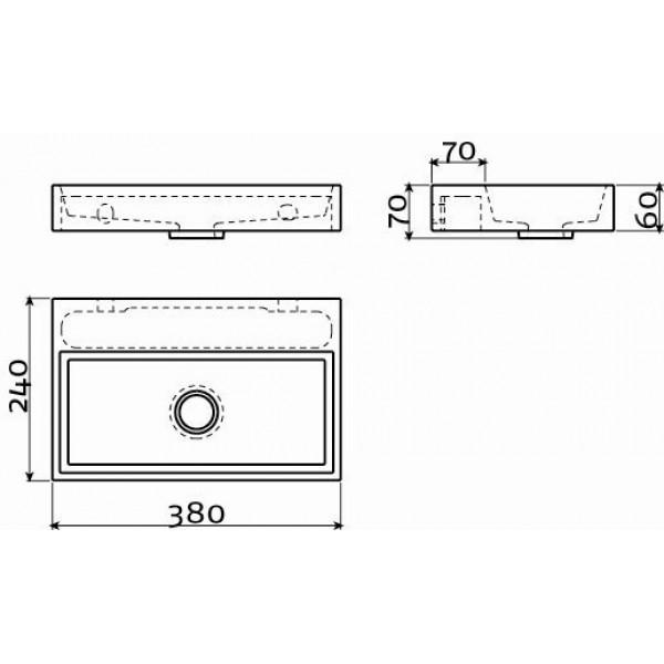 Рукомойник 38 см (CL/03.07131)