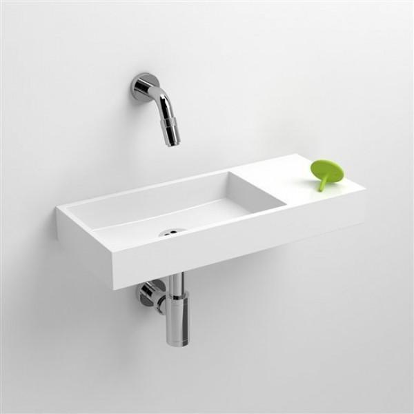 Мини раковина в ванную 45 см правосторонняя(CL/03.08135)