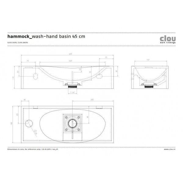 Маленькая раковина для туалета (CL/03.08370)