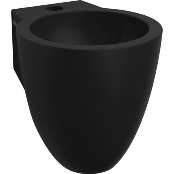 Маленькая раковина для туалета 27 см черная  (CL/03.12060)