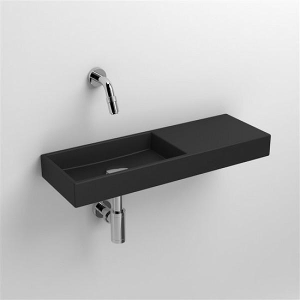 Черная раковина в ванную 56*19 см (CL/03.12241)