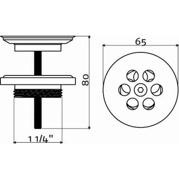 Слив для раковин (CL/06.51010.41)