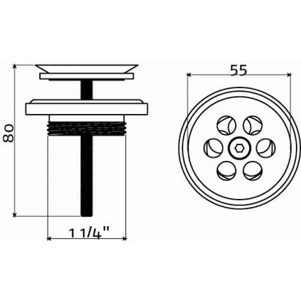 Слив для рукомойника (CL/06.51020.41)