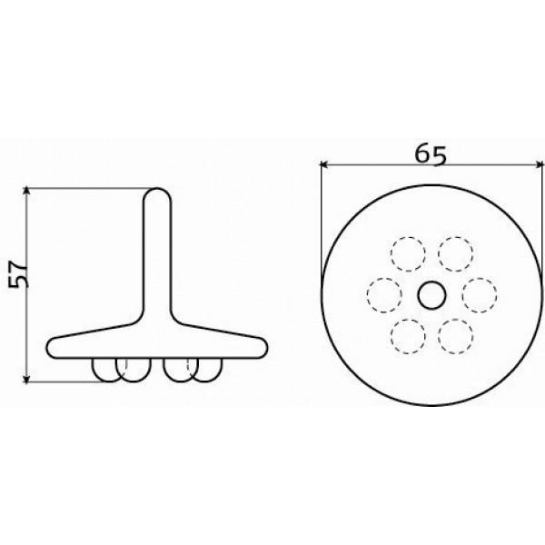 Пробка для слива  (CL/06.55015)