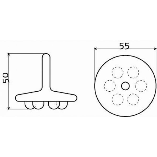 Пробка для сливной гарнитуры (CL/06.55020)