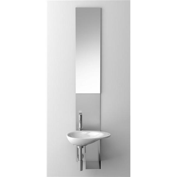 Зеркало с креплением  для рукомойников Clou  First (CL/07.39211)
