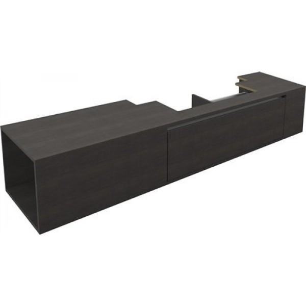 Тумба  210 см с внутренним ящиком для раковин 110 см, дуб Verona (CL/07.46.537.62)