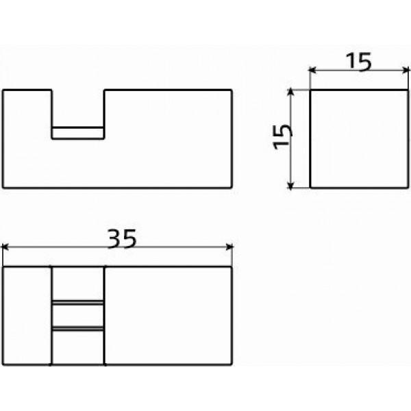 Держатели для зеркала (CL/08.01.002.29)
