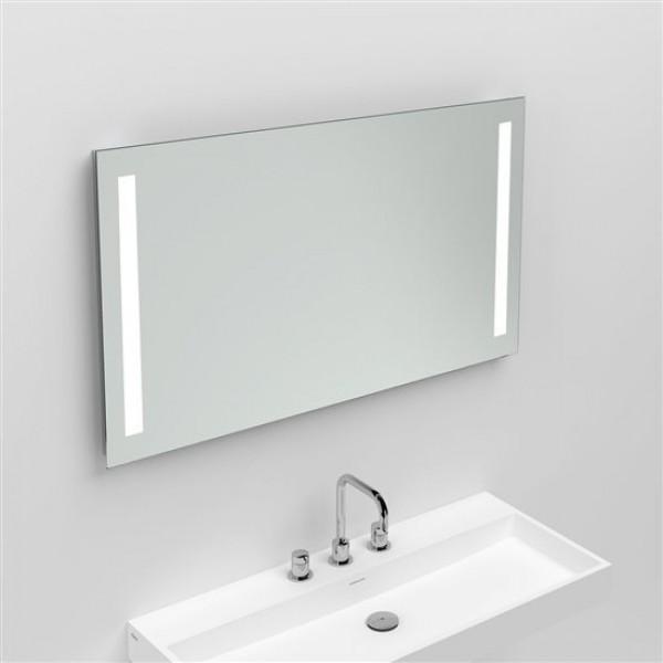Зеркало с неоновой подсветкой за стеклом, 100*60см. (CL/08.06.026.12)