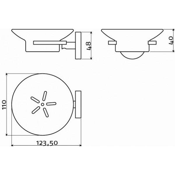 Держатель для мыла  (CL/09.02010)