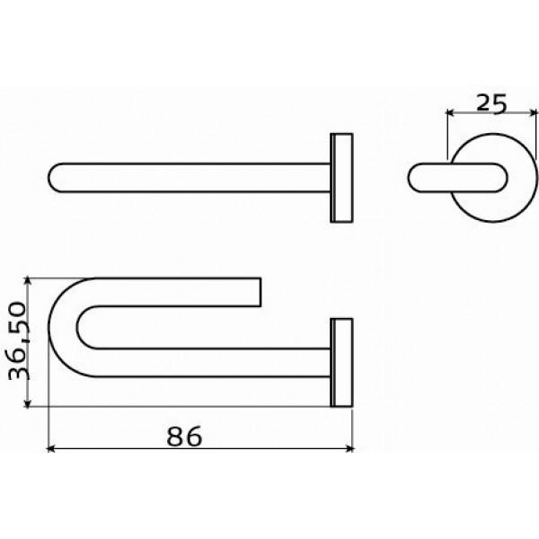 Держатель для зубных щеток (CL/09.03012.41)
