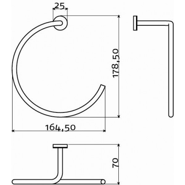 Держатель для полотенца (CL/09.03050.41)