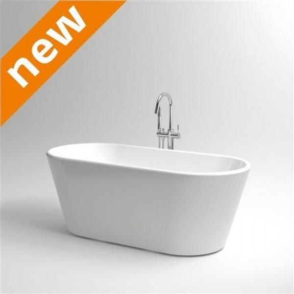 Овальная ванна из акрила с системой слив-перелив  Clou (IB/05.40301)