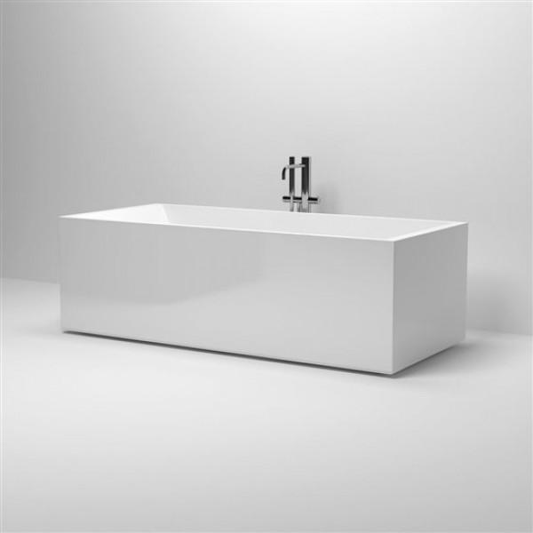 Ванна отдельностоящая прямоугольная  без перелива, со сливной гарнитурой 180 см (IB/05.40305)