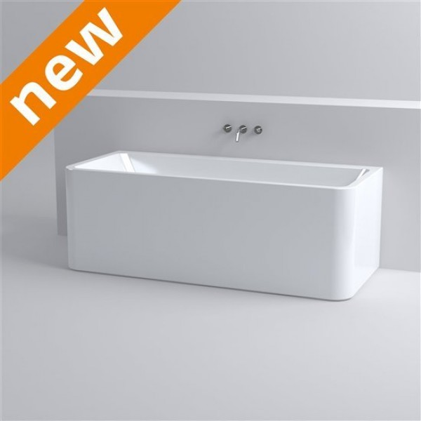 Ванна отдельностоящая CLOU с системой слив-перелив для размещения к стене (IB/05.40506)
