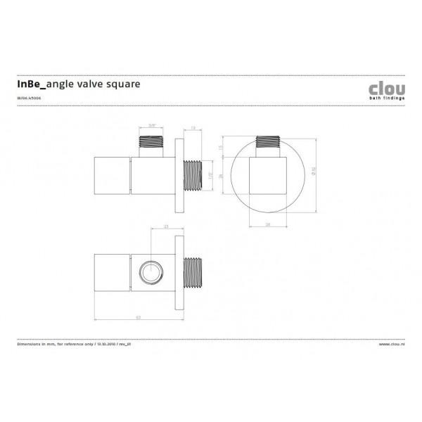 Кран для подключения посудомоечной машины (IB/06.45006)