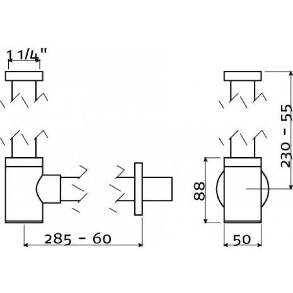 Сифон для раковины (IB/06.53002)