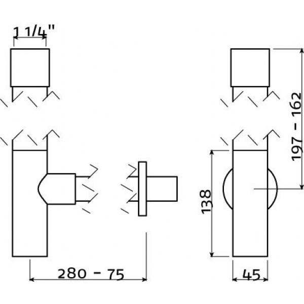Сифон для раковины универсальный  (IB/06.53006)