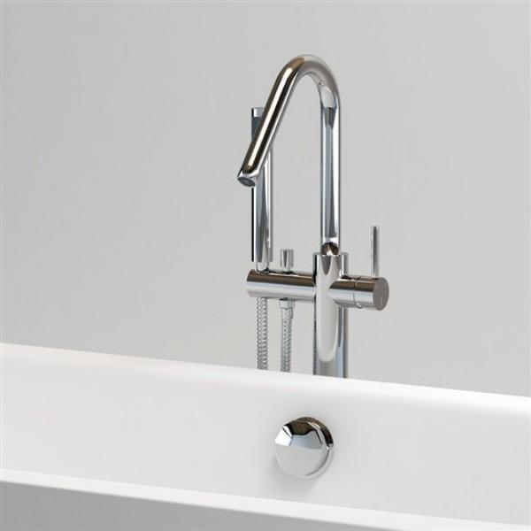 Смеситель отдельно стоящий с душем для ванной  (CL/06.04007.29)