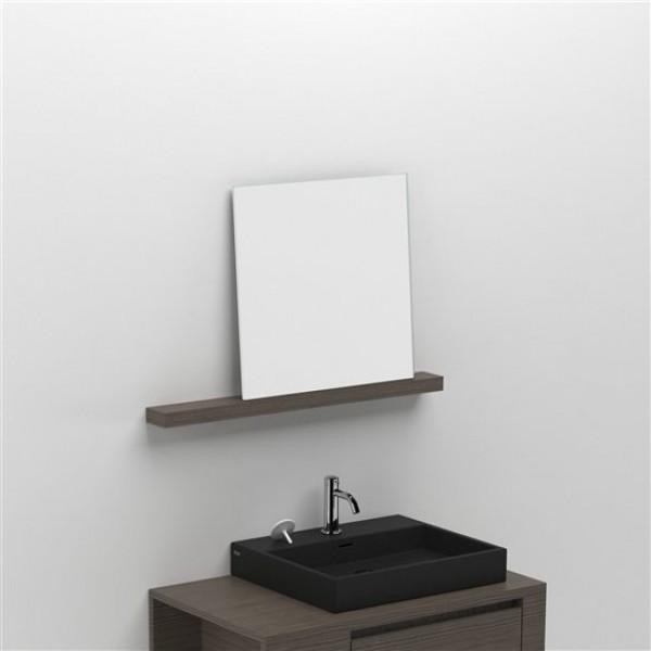 Зеркало с полкой 80 см (CL/08.52.204.60)