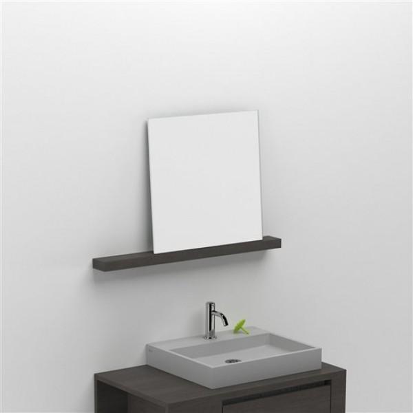 Зеркало с полкой 80 см (CL/08.52.204.62)