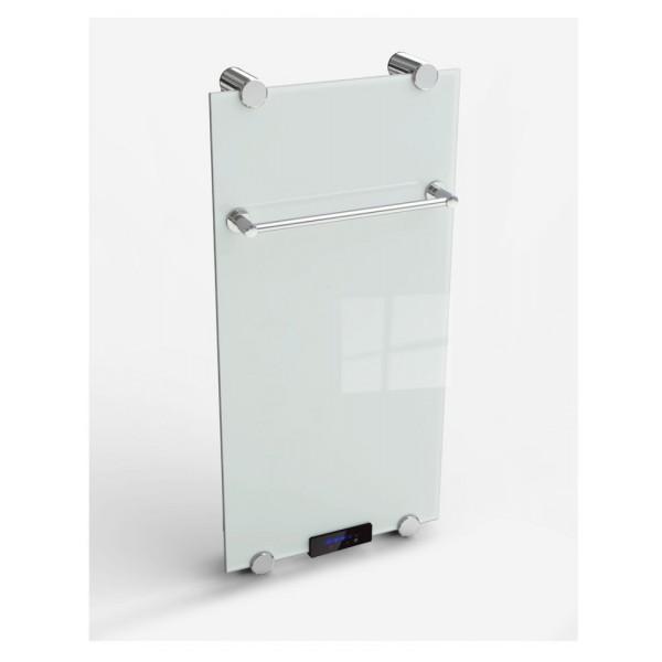 Дизайн радиатор стеклянный электрический 730 ватт Elite+ с полотенцесушителем